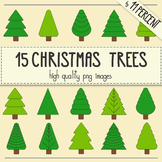 15 Christmas trees