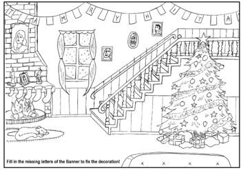 """15 Christmas Activity Sheets! """"Saving Christmas"""""""