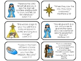 15 Christmas Bible Verse Flashcards. Preschool-Elementary Bible Study.