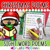 14 Christmas Themed Sight Word Poems (Poetry for Beginning Readers)