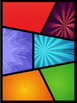 15 Colored Comic Layouts (950x1280) #1