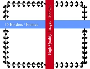 Colorful Borders