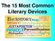 15 Common Literary Devices Mini-Unit