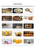 15 Cooking Methods - A Worksheet