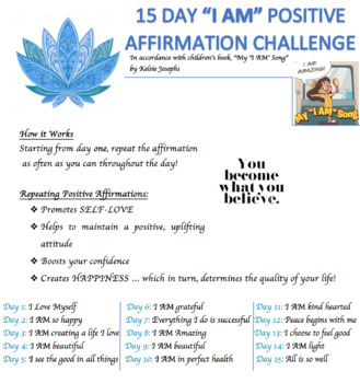 15 Day Positive Affirmation Challenge