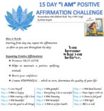 15 Day Positive Affirmation Challenge
