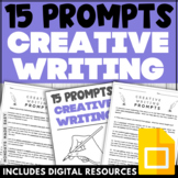 Distance Learning 50 Creative Writing Prompts with Digital