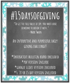 15 Days of Giving Interactive Bulletin Board
