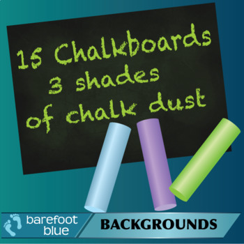 15 Different Chalkboards with Cool Coloured Chalk Dust