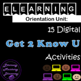 eLearning Orientation: 15 Digital Get to Know You Activiti