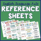 15 ELA Student Reference Sheets