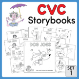 CVC Storybooks ~ 15 Emergent Readers ~ SET 1