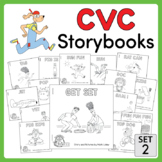 CVC Storybooks ~ 15 Emergent Readers ~ SET 2