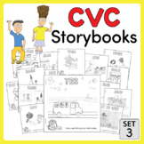 CVC Storybooks ~ 15 Emergent Readers ~ SET 3