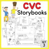 CVC Storybooks ~ 15 Mini-Books ~ SET 3