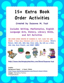 15+ Extra Book Order Activities