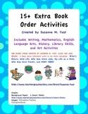 15+ Extra Book Order Activities