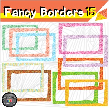 15 Fancy Borders / Frames