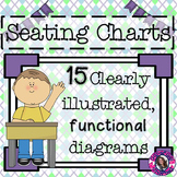 Seating Charts and Desk Arrangements Freebie!