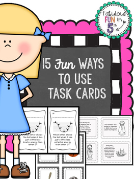 15 Fun Ways To Use Task Cards