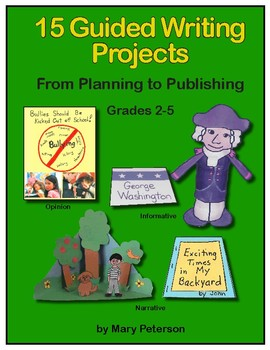 15 Guided Writing Projects