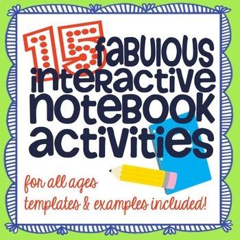 15 Interactive Notebook Activity Ideas