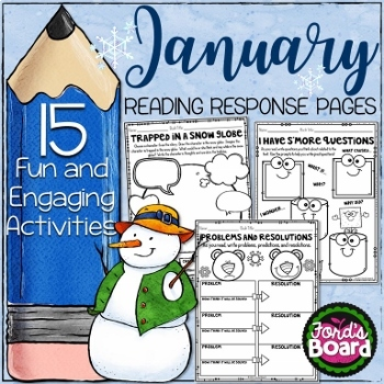 15 January Reading Activities for Any Book