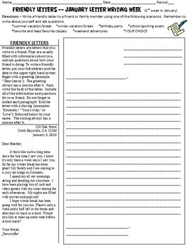 15 January Writing (letters, descriptive, poetry) & Reading Worksheets - winter