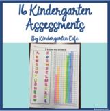 15 Kindergarten Assessments (Literacy and math!)