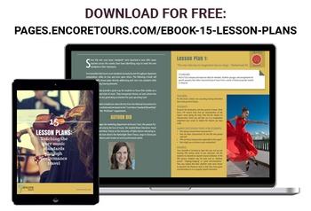 15 Lesson Plans - Teaching Core Music Standards Through Travel
