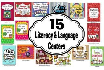 Literacy & Language 15 Winter Centers