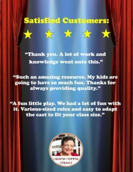 15 MINUTE SCRIPT:  THE LITTLE GIRL AND THE WINTER WHIRLWINDS GRADES 5-8