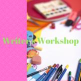 15 MINUTES WARM-UP; CREATIVE WRITING CLASS SET