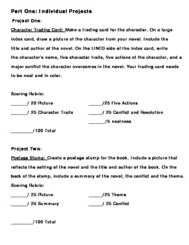 15 MORE Great Book Report Alternative Projects to use with any book!