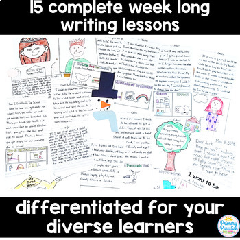 MORE Writing Lessons for Primary Grades (15 Full Lessons)