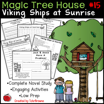 #15 Magic Tree House- Viking Ships at Sunrise Questions