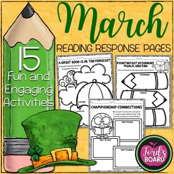 15 March Reading Activities for Any Book