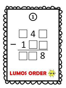 15 Math Monster Scavenger Hunt Games Bundle Grades 4-6