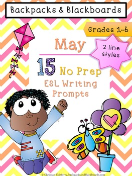 15 May Writing Prompts (ESL Approved)