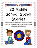 20 Intermediate and Middle School Social Stories