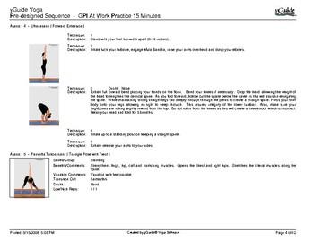 15 Min Yoga Session