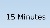 15 Minute Countdown Timer