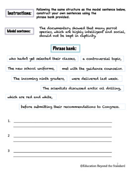 15 Minute Grammar - Modifiers - Explanation and Practice
