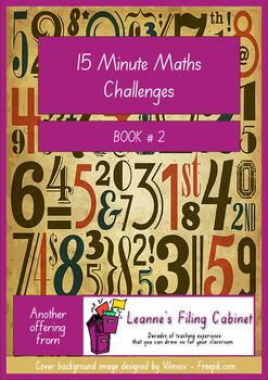 15 Minute Maths Challenges - Book 2