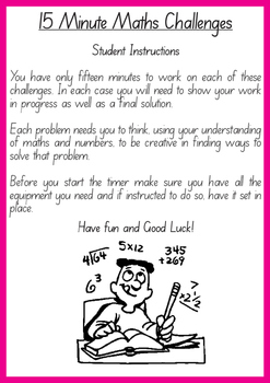 15 Minute Maths Challenges - Book 4