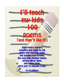 15 Minute Poetry Lessons