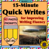 15-Minute Quick Writes Set #4 for Improving Writing Fluency