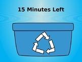 15 Minute Timer (Earth Week Theme)