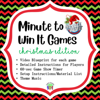 15 Minute to Win It Games for Christmas Party!