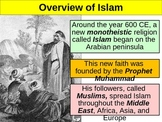 WORLD UNIT 3 LESSON 2. Muhammad and Islam POWERPOINT